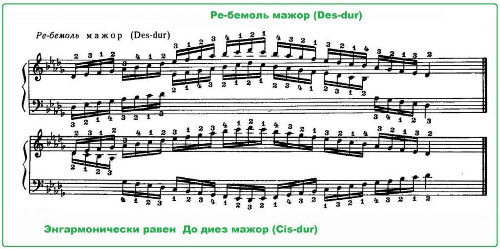 re-bemol-mazhor